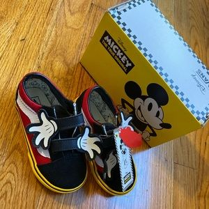 Brand new Mickey Mouse Vans toddler 8